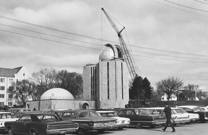 Construction of Ritter Observatory and Planetarium