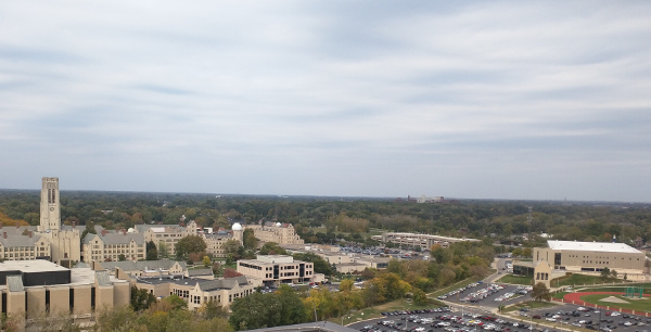 View From Parks Tower