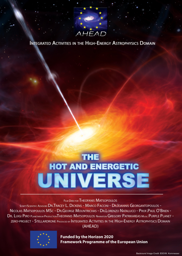 Hot and Energetic Universe Poster