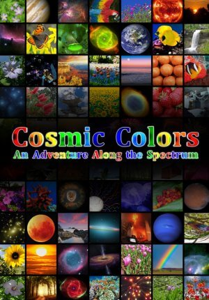 Cosmic Colors Poster