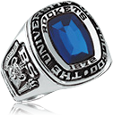 Photo of class ring