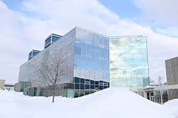 Nitchke Hall winter scene