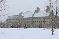 Wolfe Hall winter scene