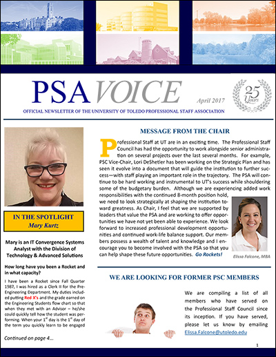 PSA Voice Cover - April 2017