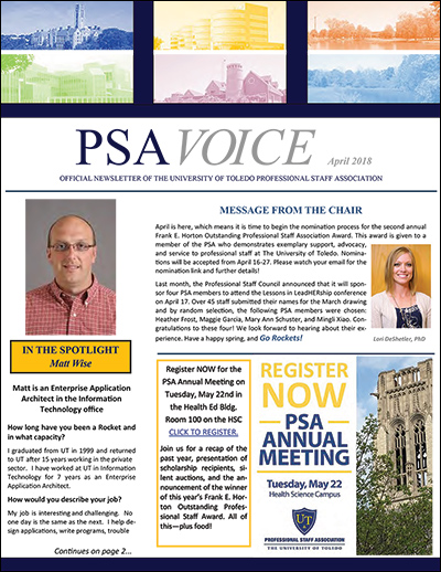 PSA Voice Cover - April 2018