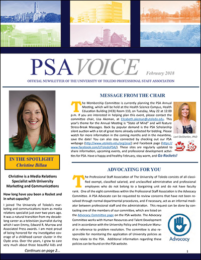 PSA Voice Cover - February 2018