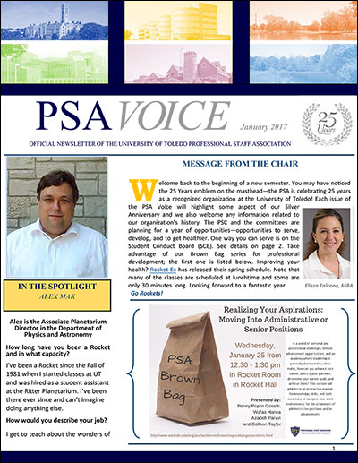 PSA Voice Cover - January 2017