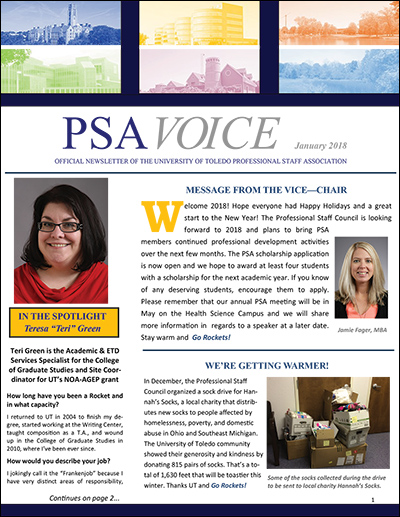 PSA Voice Cover - January 2018