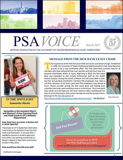 PSA Voice Cover - March 2017