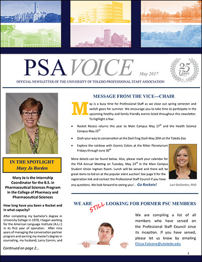 PSA Voice Cover - May 2017