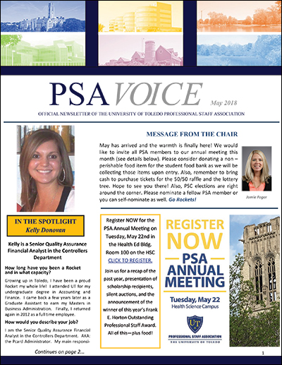 PSA Voice Cover - May 2018