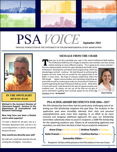 PSA Voice - September 2016 - Preview