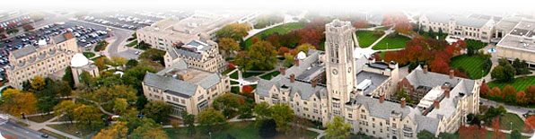 Aerial phot of UT campus