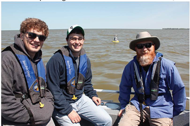 Dr. Thomas Bridgeman and Students - Lake Erie Research