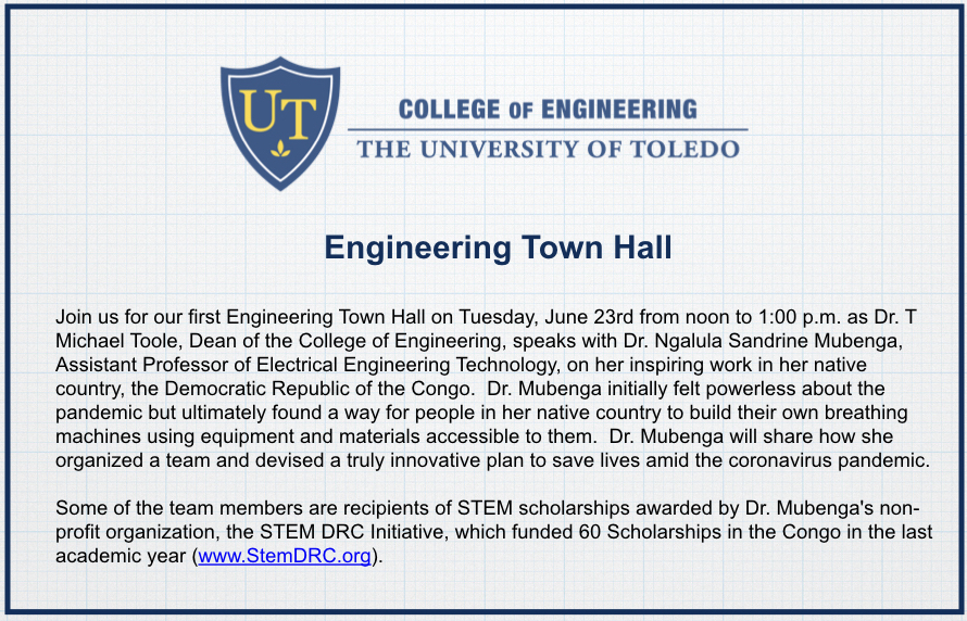 College of Engineering Town Hall