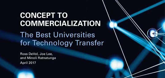UT Ranked 66th in the Nation in Technology Transfer Commercialization