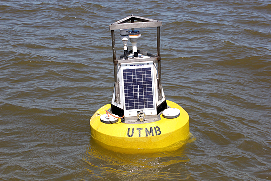 UToledo Water Quality and Sensor Buoy Off the Shore of Maumee Bay State Park Lodge in Oregon, OH