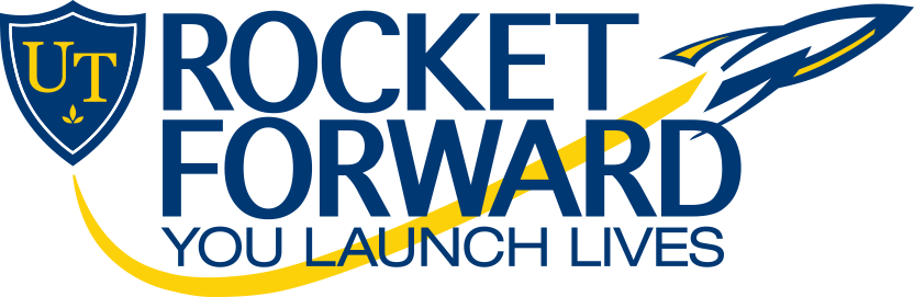 Rocket Forward: You Launch Lives logo