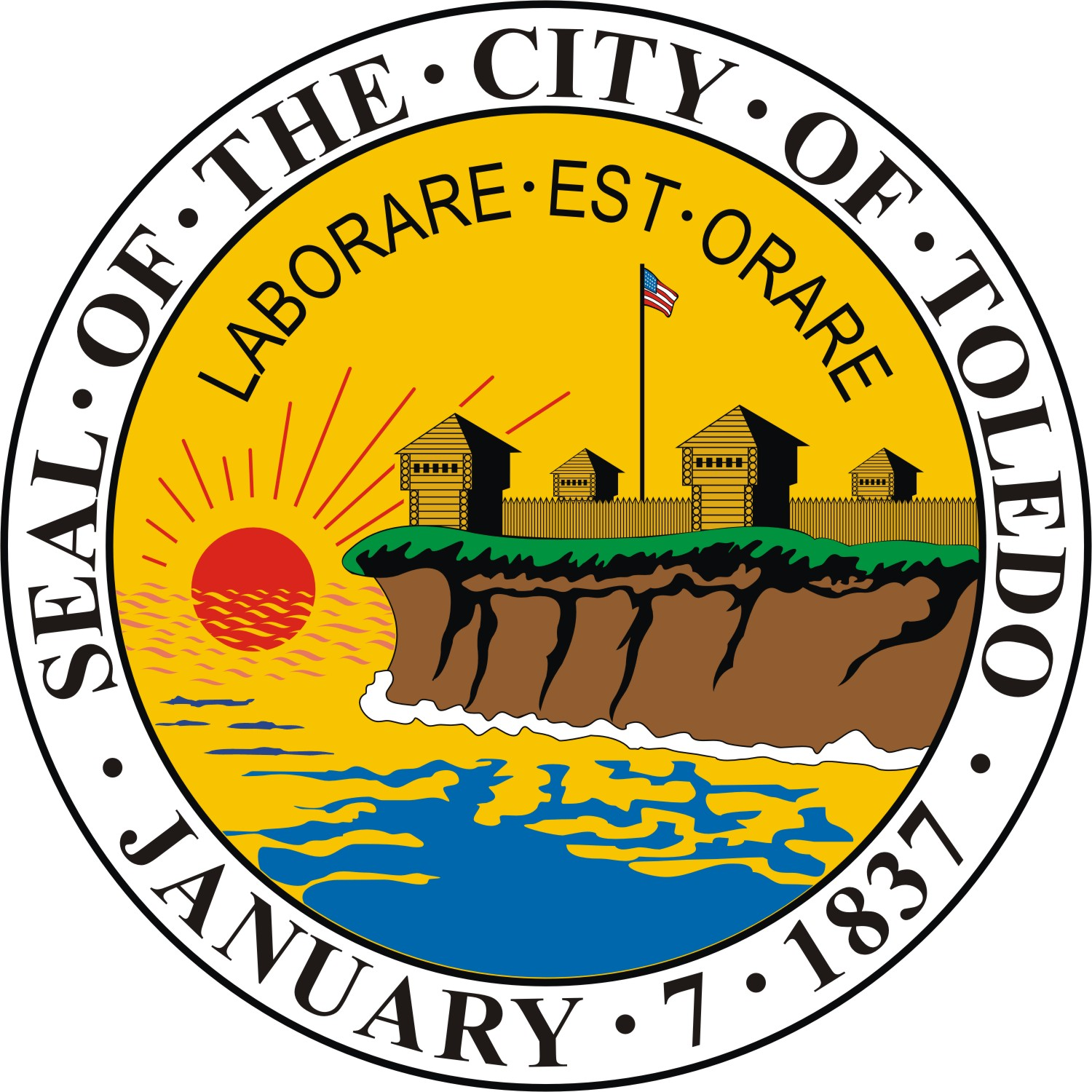 Seal of the City of Toledo