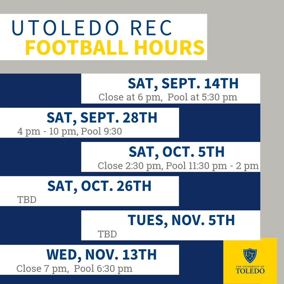 Facility Hours Football