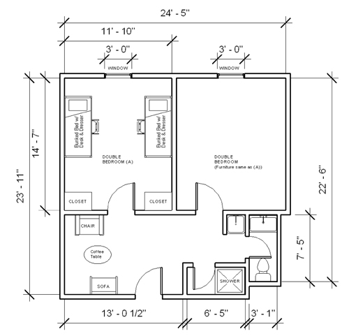 Individual Furniture Configurations And Room Dimensions May Vary. Part 42
