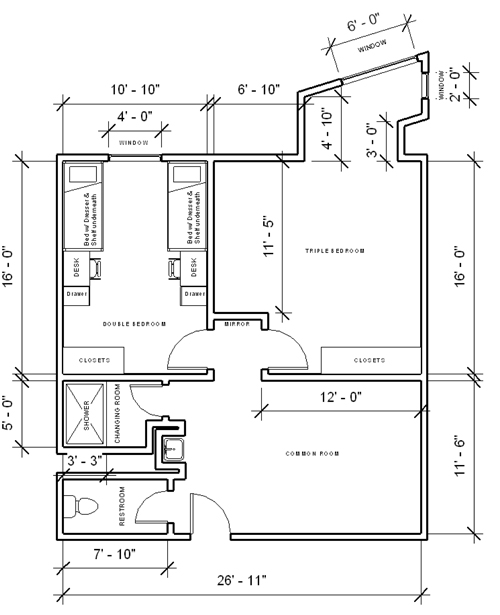 Individual Furniture Configurations And Room Dimensions May Vary. Part 59