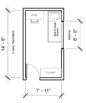 Parks Tower Single Room. *Floor Plans ... Part 84