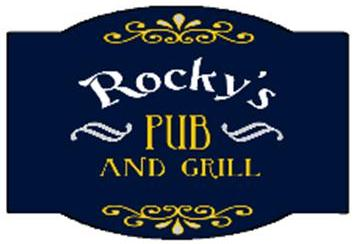 rocky's pub and grill logo