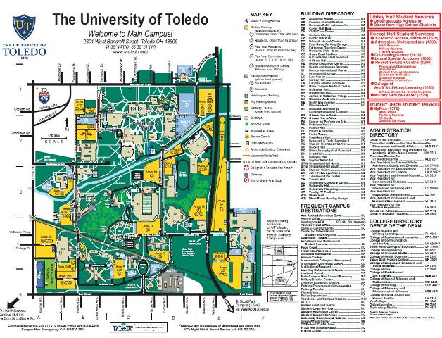 Goddard Campus Map.Main Campus Map 01 13 2019