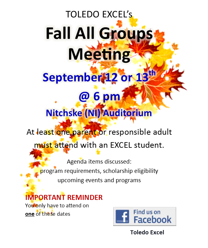 Fall All Groups Mtg