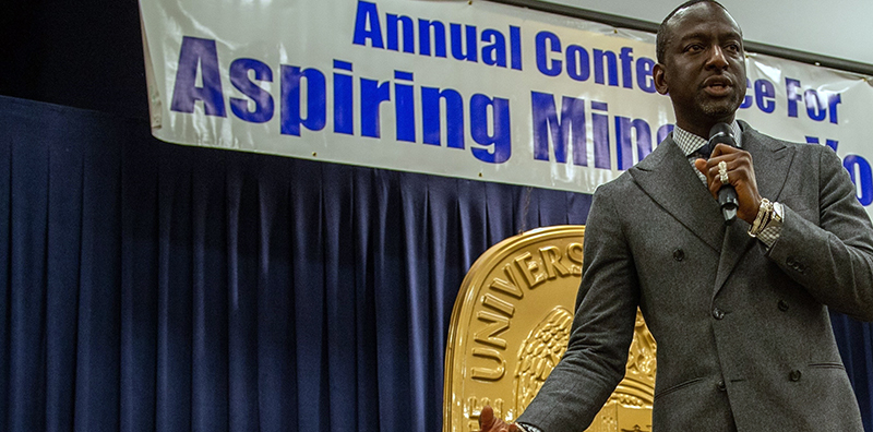 speaker at the annual aspiring minority leader conference