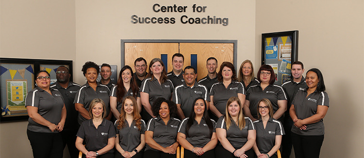 Group photo of the success coaches