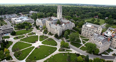 The University of Toledo campus view
